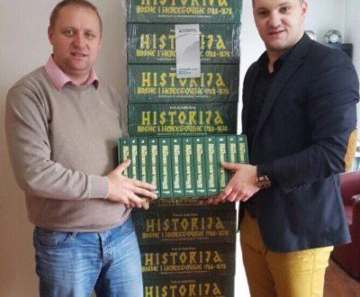 Isporuka edicije Historija Bosne i Hercegovine 1788-1878