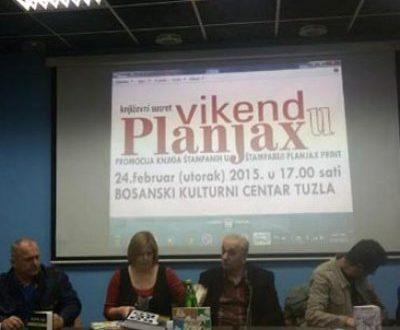 VIKEND U PLANJAX-u: Promocije šest izdanja u Bosanskom kulturnom centru u Tuzli